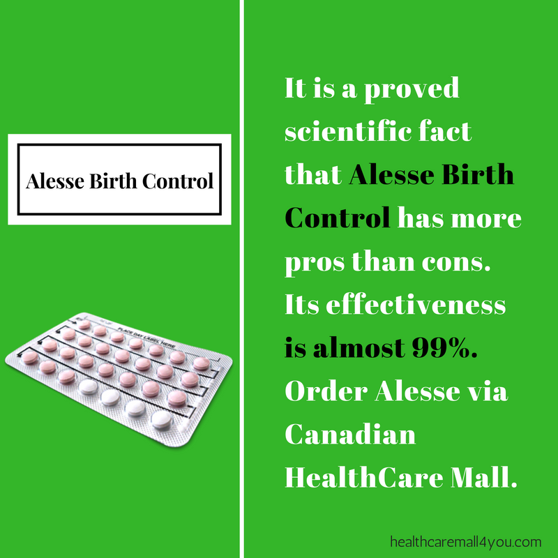 Alesse Birth Control Cons and Pros