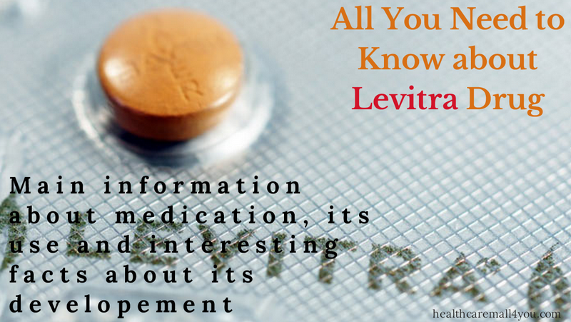 What is the drug levitra used for