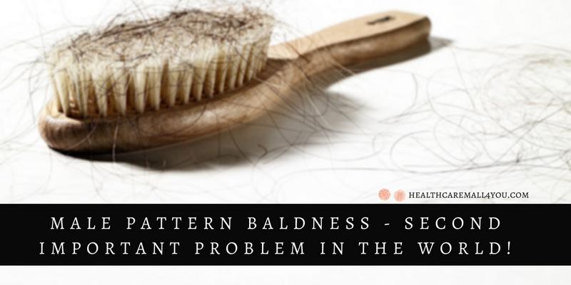 male pattern baldness problem