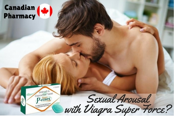 Sexual Arousal with Viagra Super Force-